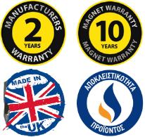 Εγγύηση Trappex - Made in UK - Αποκλειστικότητα Gas Technic